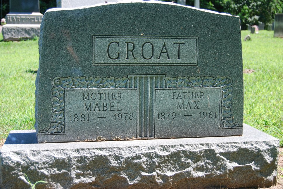 Mabel and Max Groat